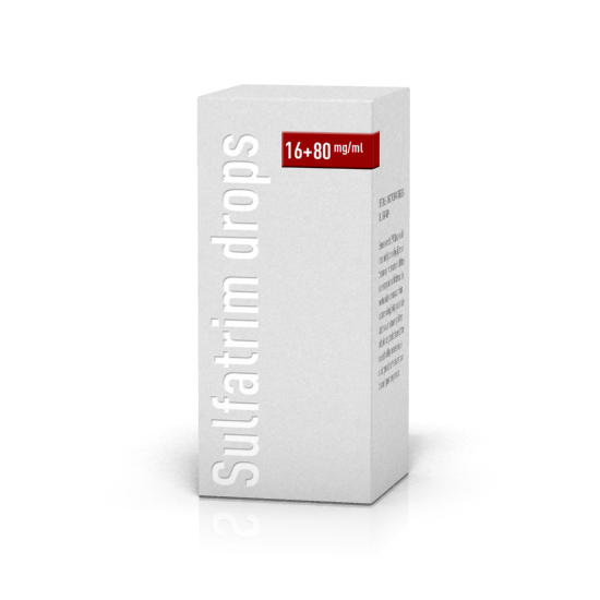 Sulfatrim® drops 16 mg/ml, 80 mg/ml