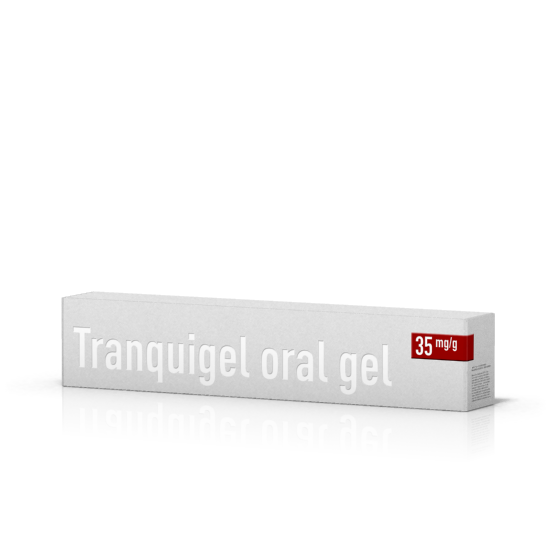 Tranquigel® oral gel 35 mg/g